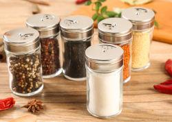 Стеклянной посудой для стекла Cruet или стекла Spice кувшин блендера с крышкой