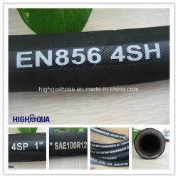 Hochleistungsindustrie spezieller HochdruckHydraulice Schlauch mit En856 4sh/4sp/R12/R13/R16