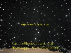 Der weißen Lampen-LED Hochzeits-Dekoration-Schutztuch-Partei-Stab Stern-des Vorhang-DMX