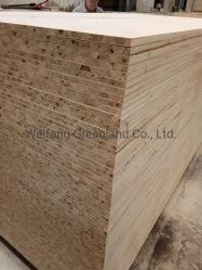 Bloc de base en bois de pin Carte avec film Okume