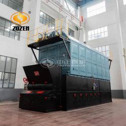 industrieller horizontaler Holz-Abgefeuerter Ketten4000kg dampfkessel