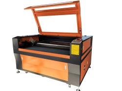 De houten Graveur van de Laser van de Fles van de Kop van het Glas met Roterend Apparaat Flc1390