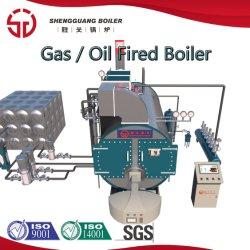ガーベージによって発射される焼却炉の軽油の二重燃料バーナーの蒸気または熱湯ボイラー