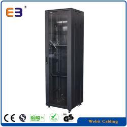 Классический 19-дюймовый шкаф напольная стойка для прокладки кабелей