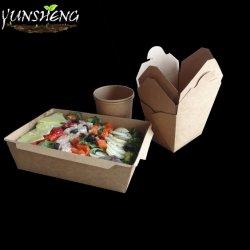 يأخذ طعام مستهلكة ورقيّة حارّة خارجا وعاء صندوق عالة يطبع يأخذ صناديق بعيد