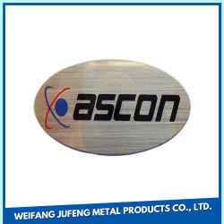 لوحة توقيع باب العمل الخاصة بمصنعي المعدات الأصلية (OEM) من الفولاذ المقاوم للصدأ التركيب
