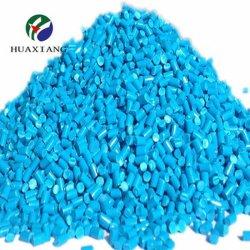 De gerecycleerde LDPE HDPE pp Blauwe Kleur Masterbatch van Korrels