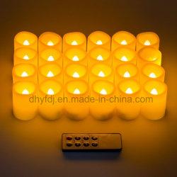 LED recarregáveis velas decorativas Flameless por grosso