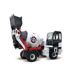 Bst2500 1.5立方メートルの自動具体的なミキサーのトラックまたは回転ドラムコンクリートミキサー車
