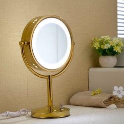 LEDの軽い浴室ミラーの倍はミラー丸型の銀味方する