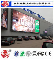 Commerce de gros P10 haute résolution couleur Affichage LED/ panneau publicitaire