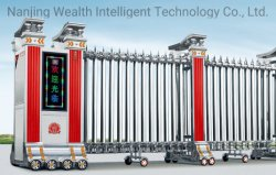Trackless Automaticretractable gate porte pliante avec moteur intelligent