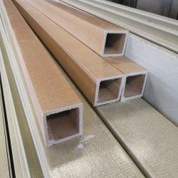 복합 FRP GRP 풀트루드된 유리섬유 사각 튜브 100 * 100mm