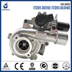 Toyota Landcruiser Hilux/ D4D 1KD 17201-0L040 17201 17201-30110-OL040 turbocompresseur électrique