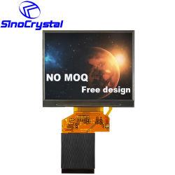 3.5 visualizzazione/schermo/modulo dell'affissione a cristalli liquidi di tocco del video dell'automobile di risoluzione 24bit RGB di pollice TFT 320X240