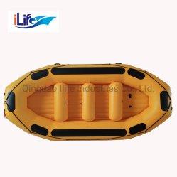 O Ilife Rafting grandes 4.3m Hypalon insufláveis/PVC Água Branca Whitewater River Jangadas com 10 pessoas/ Auto Bail viga I Jangada Piso Preço de barco