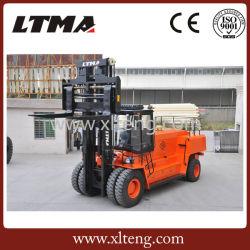 Forte puissance du moteur diesel hydraulique de chariot élévateur à fourche de 25 tonnes avec cabine