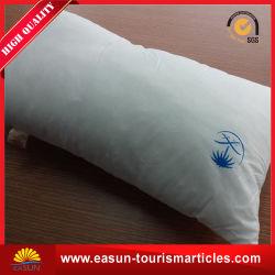 Weiße Baumwollgewebe-Geschäfts-Kategorien-Fluglinien-Kissen-Stickerei