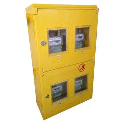 Color amarillo y el uso de cocina al aire libre caja del medidor de Gas Natural