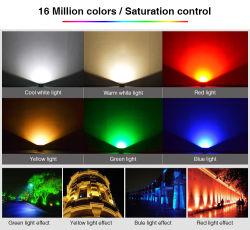 16 миллионов цветов, CCT регулируемый 10W RGB+CCT светодиодный светильник