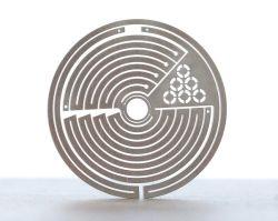 金属のシート・メタルアルミニウム切口レーザーの彫版