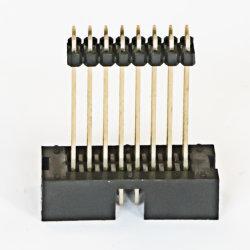 1.27mm/2.0mm/2.54によってカスタマイズされるボックスヘッダのまっすぐなすくいのタイプ