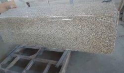 Jaune de la peau de tigre de comptoirs en granit avec musoir Edge