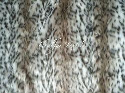 ジャカードのどの毛皮の/Knittedのプラシ天の毛皮の/Leopardの毛皮