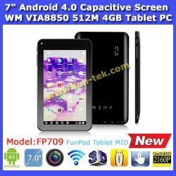 7 pouces Via8850 Android 4.0 Wondermedia Tablet PC (PC709)