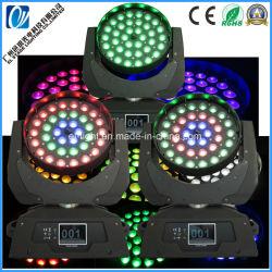 움직이는 헤드 조명 36PCS LED(줌 RGBW A UV P 7in1 컬러 LED