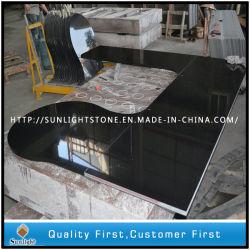 Полированный абсолютной Шаньси черный дизайн кухни Кухонные мойки