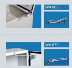 Batente da porta de metal para caixas de aço e os armários