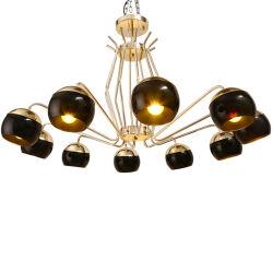 L'Araignée de luxe de style rétro forme Swing LED Lampe Magic Bean Pendentif de décoration