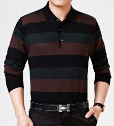 Cálida de alta calidad de los hombres tejidos de lana personalizados