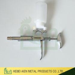 Justierbare Spritze der kontinuierliche Einspritzdüse-automatische Einspritzdüse-Spritze-5cc für Geflügel und Viehbestand