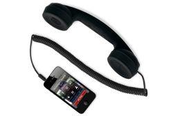 per il microtelefono di Ipadmobile di iPhone con il tasto e la mano inserita/disinserita a-012 stabilito di Moshi Moshi del volume