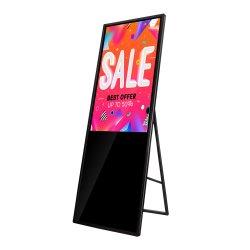 Centro Comercial de suelo de la pantalla táctil de 43 pulgadas de quiosco Digital Signage ultraligero peso ligero