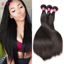 Virgen brasileño cabellos lisos, 100% de las extensiones de cabello humano.