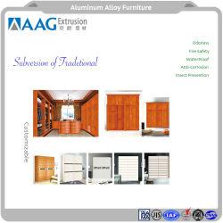 Современная металлическая мебель алюминиевый профиль кухонным шкафом