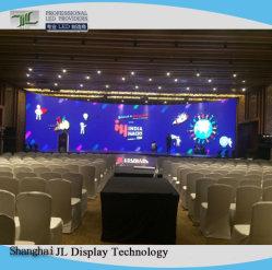 Som de música P3.91 de parede LED com o Sistema Controlador de LED e processador de vídeo