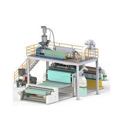 خط إنتاج Spunbond ملتهج بطول 1600 مم مع مواد ممتازة