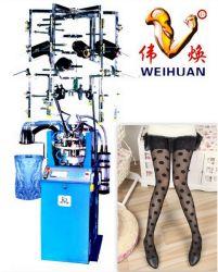Weihuan, Wh-E7 Computerized Jacquard Silk Stocking Knitting Machine (4 pollici)