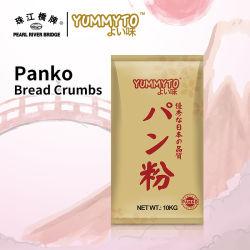 4-5mm Panko migalhas de pão 10kg Yummyto e de alta qualidade da marca japonesa Farinha Panko Fermentated Natural