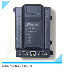 O PLC Controlador Lógico Programável T912 (12AI, 4AO, 14DI, 6Fazer) com RS485 e Modbus RTU Modbus TCP Ethernet