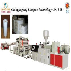 A linha de produção de folhas de PVC