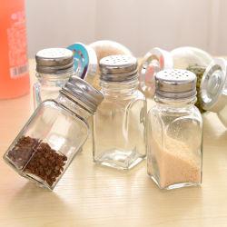 70ml Mini condiment Bouteilles en verre pour le stockage du sel Spice
