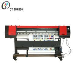 De gran formato digital única cabeza Eco solvente Plotter de impresión