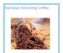 Extrait de plante pour le meilleur café minceur