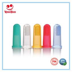 Toothbrush della barretta del silicone del commestibile per il bambino