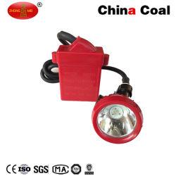 광부를 위한 지하 광업 LED 모자 램프